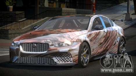 Jaguar XE GST S1 para GTA 4