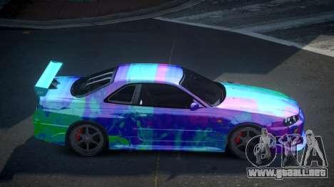 Nissan Skyline R34 PSI-S S1 para GTA 4