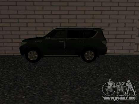Nissan Patrol LE Y62 RUS Plates para GTA San Andreas