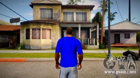 New T-Shirt - tshirterisyell para GTA San Andreas
