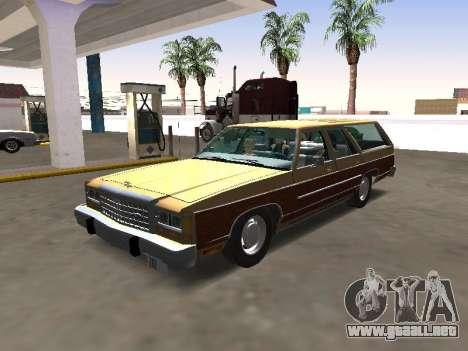 1986 Ford LTD Crown Victoria Station Wagon para GTA San Andreas