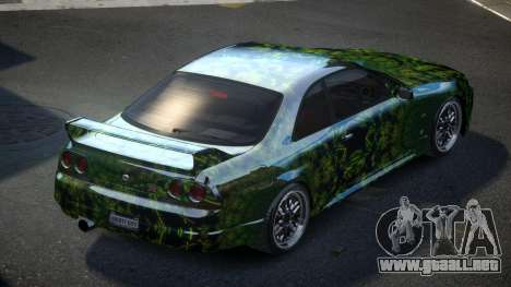 Nissan Skyline R33 US S10 para GTA 4