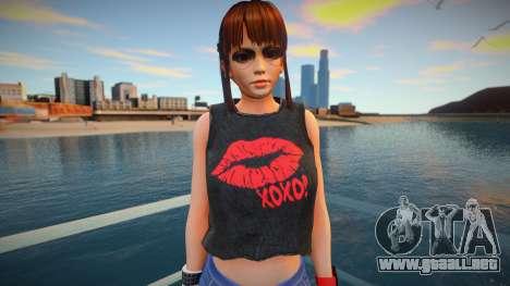 DOA Leifang Fashion Casual V2 para GTA San Andreas