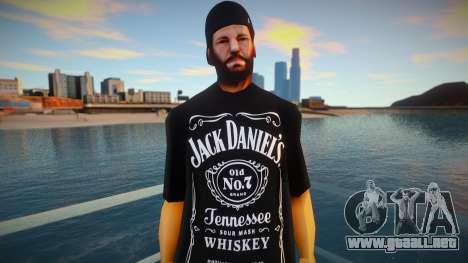 Str3sU ComputerS Skin - Jack Daniels para GTA San Andreas