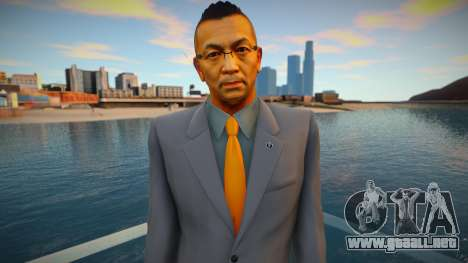 Toshihiro Nagoshi - Yakuza 0 para GTA San Andreas