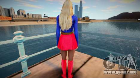 Helena Super Girl para GTA San Andreas