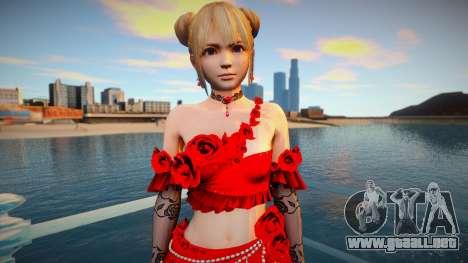 Marie Rose Bouquet Rose para GTA San Andreas