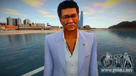 Daisaku Kuze - Yakuza 0 para GTA San Andreas