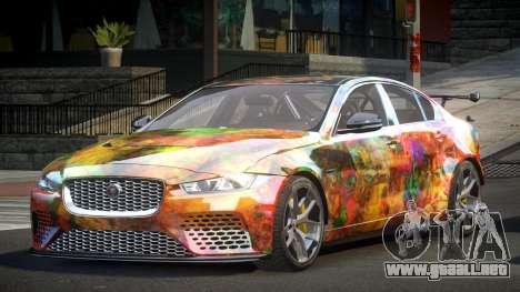 Jaguar XE GST S2 para GTA 4
