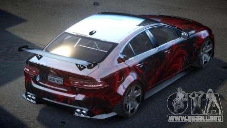 Jaguar XE GST S10 para GTA 4