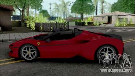 Ferrari J50 2017 (Real Racing 3) para GTA San Andreas