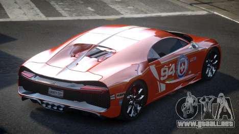 Bugatti Chiron GS Sport S10 para GTA 4