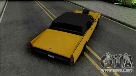 Vapid Chino [SA Plate] para GTA San Andreas