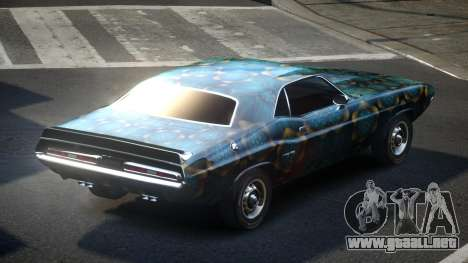 Dodge Challenger SP71 S6 para GTA 4