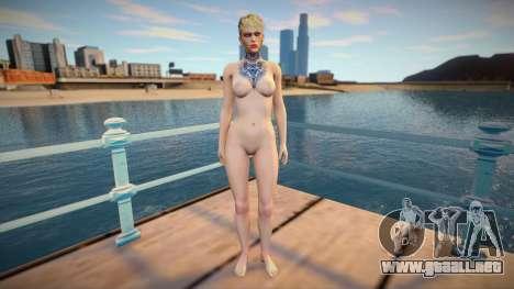 Copperhead Nude para GTA San Andreas