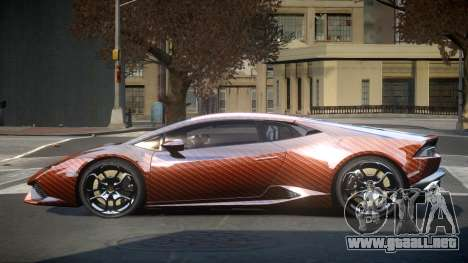 Lamborghini Huracan LP610 S1 para GTA 4