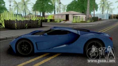 Vapid FMJ para GTA San Andreas
