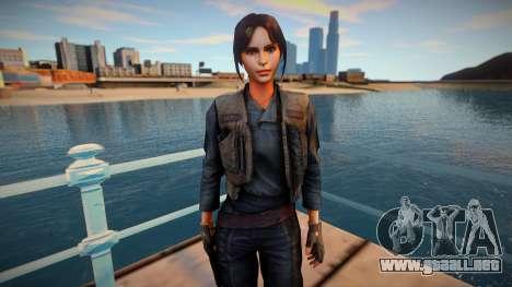 Jyn Erso from Star Wars: Force Arena para GTA San Andreas