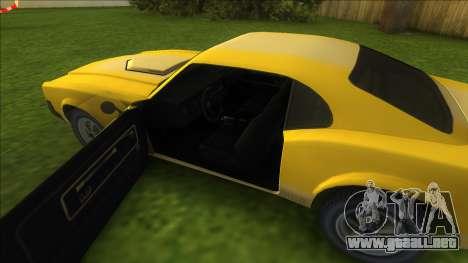 Sabre GT para GTA Vice City