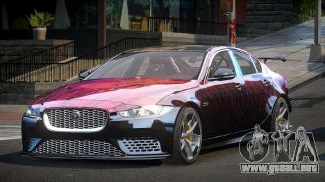 Jaguar XE GST S6 para GTA 4