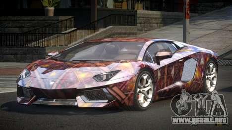 Lamborghini Aventador BS LP700 PJ1 para GTA 4