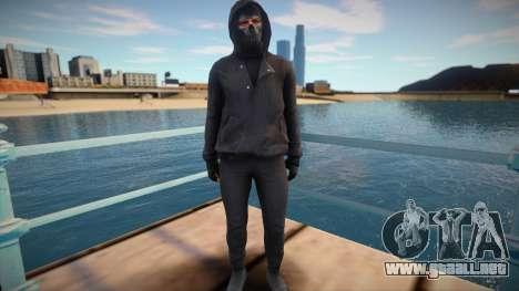 Young thug from GTA V para GTA San Andreas