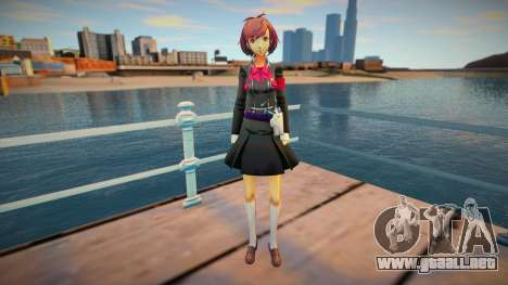 Persona 3 Female Protagonist SEES Outfit para GTA San Andreas