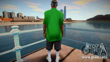 New Fam 3 skin para GTA San Andreas