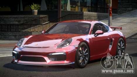 Porsche 718 Cayman GT4 para GTA 4