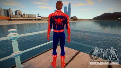 Spiderman 2007 (Red-unmask) para GTA San Andreas