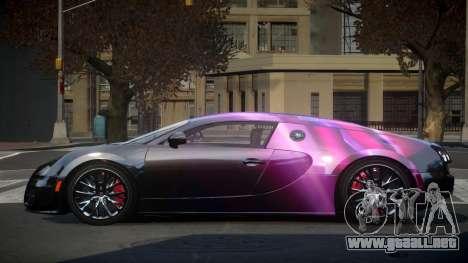 Bugatti Veyron PSI-R S6 para GTA 4