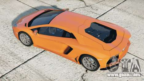 Lamborghini Aventador LP 700-4 (LB834) 2011