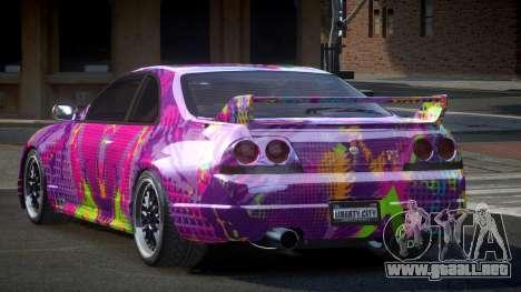 Nissan Skyline R33 US S6 para GTA 4