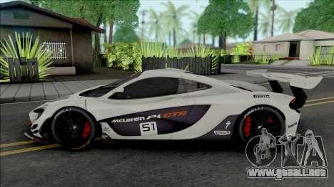 McLaren P1 GTR [HQ] para GTA San Andreas