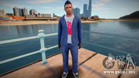 Dude from GTA Online para GTA San Andreas