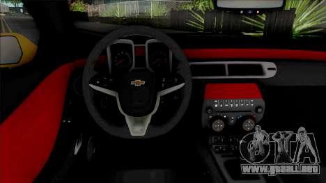 Chevrolet Camaro ZL1 [HQ] para GTA San Andreas