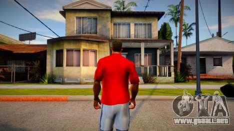 New T-Shirt - bandits para GTA San Andreas