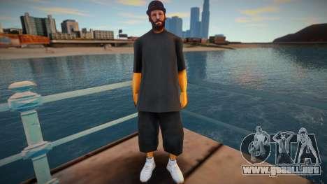 Str3sU ComputerS Skin - Black Style para GTA San Andreas
