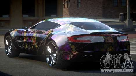Aston Martin BS One-77 S7 para GTA 4