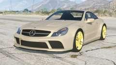 Mercedes-Benz SL 65 AMG Serie Negra (R230) 2008〡add-on v1.2 para GTA 5