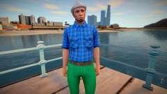 Dude 24 from GTA Online para GTA San Andreas