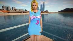 DOA Helena Douglas Fashion Casual V1 Miami Heat para GTA San Andreas