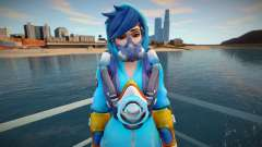Tracer (Graffity) from Overwatch para GTA San Andreas