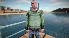 Hombre ruso en un suéter (buena piel) para GTA San Andreas