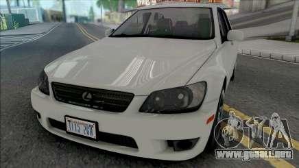 Lexus IS300 (SA Lights) para GTA San Andreas