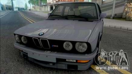 BMW M5 E28 [HQ] para GTA San Andreas