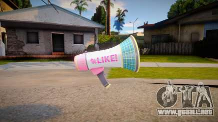 Setsuna Microphone para GTA San Andreas