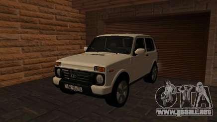 Lada Urban 4x4 para GTA San Andreas