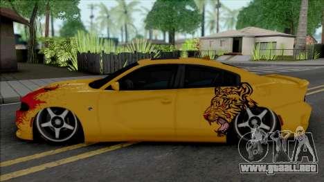 Dodge Charger SRT Hellcat 2015 Tuned para GTA San Andreas
