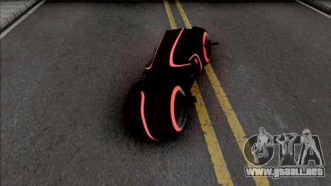 Tron Bike with Light Trail para GTA San Andreas